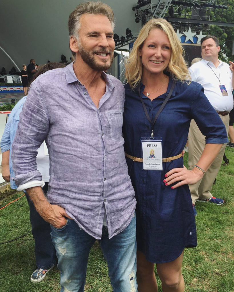 Sarah and Kenny Loggins