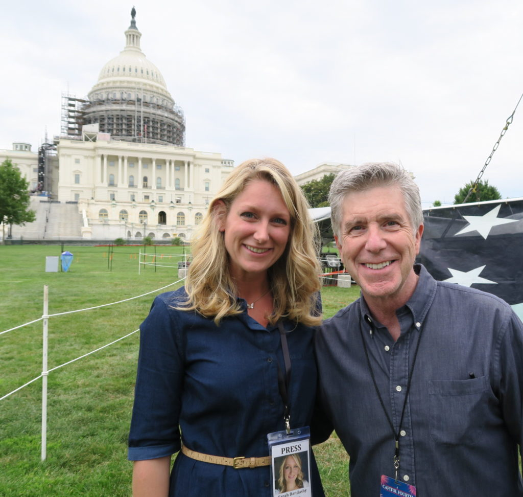 Sarah and Tom Bergeron