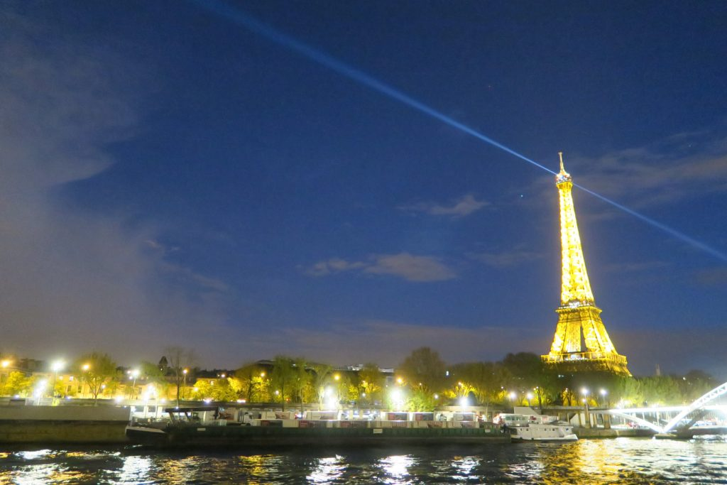 Eiffiel Tower at Night Paris
