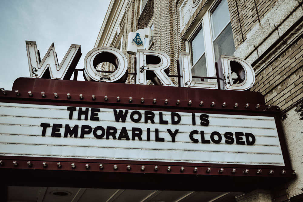 the world is closed